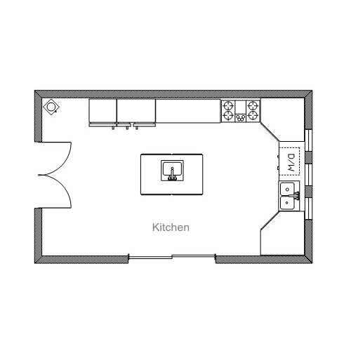 Ready To Use Sample Floor Plan Drawings Templates Easy Blue