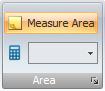 Measure the area