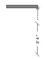 Independent dimension line