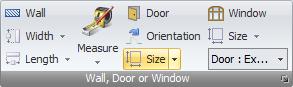 Door & Window width