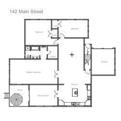 easy to use floor plan drawing softwarecreate floor plans like these in minutes
