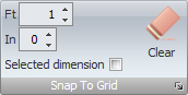 Snap-To-Grid button