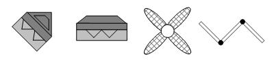 Symbols example - living room