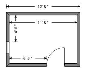 Adjust wall length before
